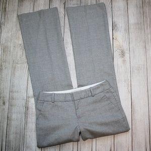 BANANA REPUBLIC Size 2 Gray Dress Pants MARTIN